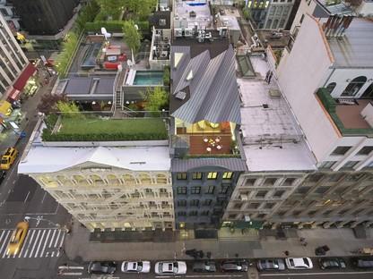 WORKac The Stealth Building abitare sui tetti di New York