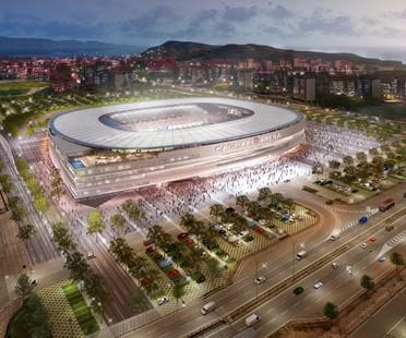 Nuovo stadio Cagliari Calcio firmato Massimo Roj di Progetto CMR e Sportium