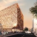 Stefano Boeri Architetti primo progetto a Tirana Cubo di Blloku
