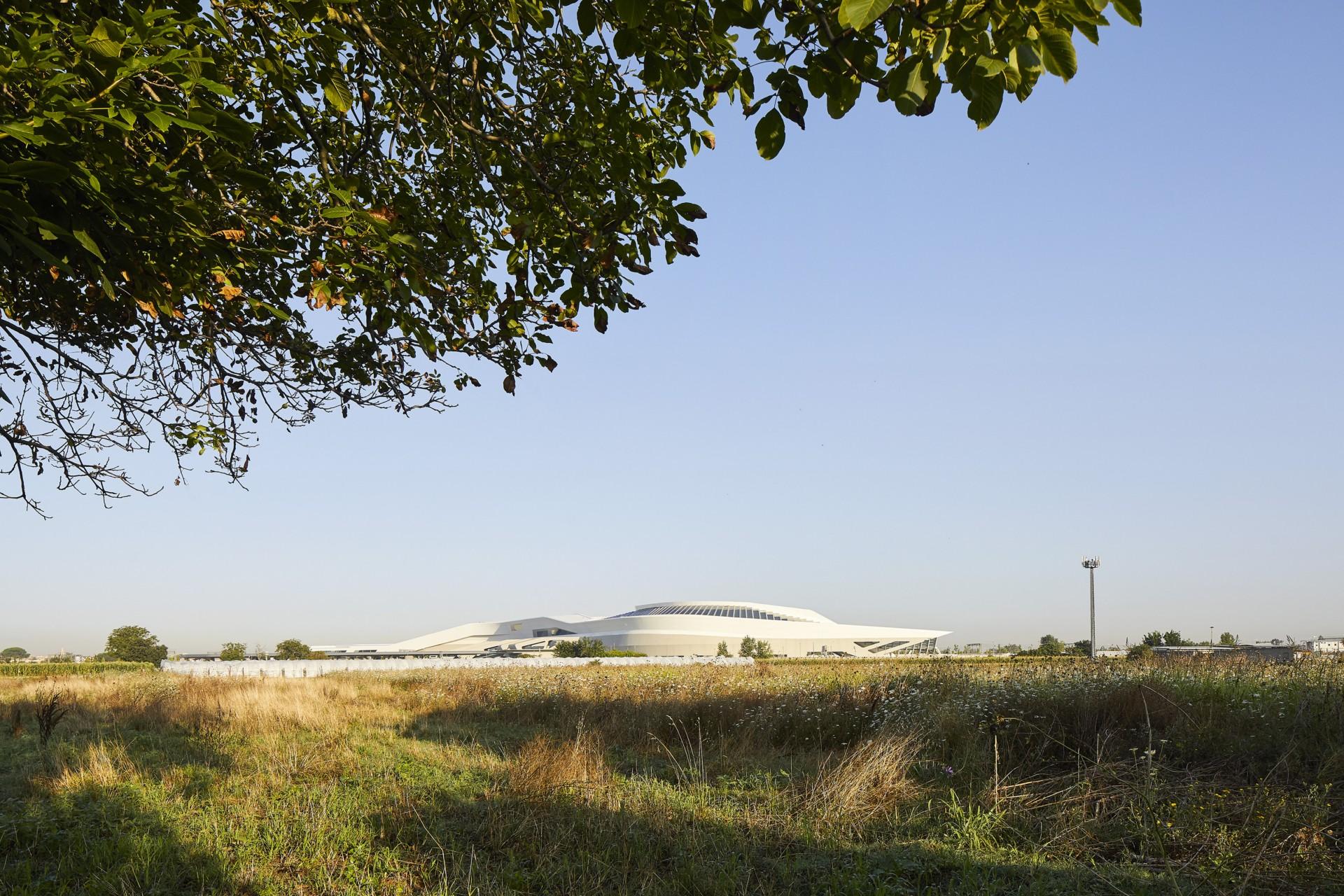 Zaha Hadid Architects High Speed Train Station Napoli-Afragola
