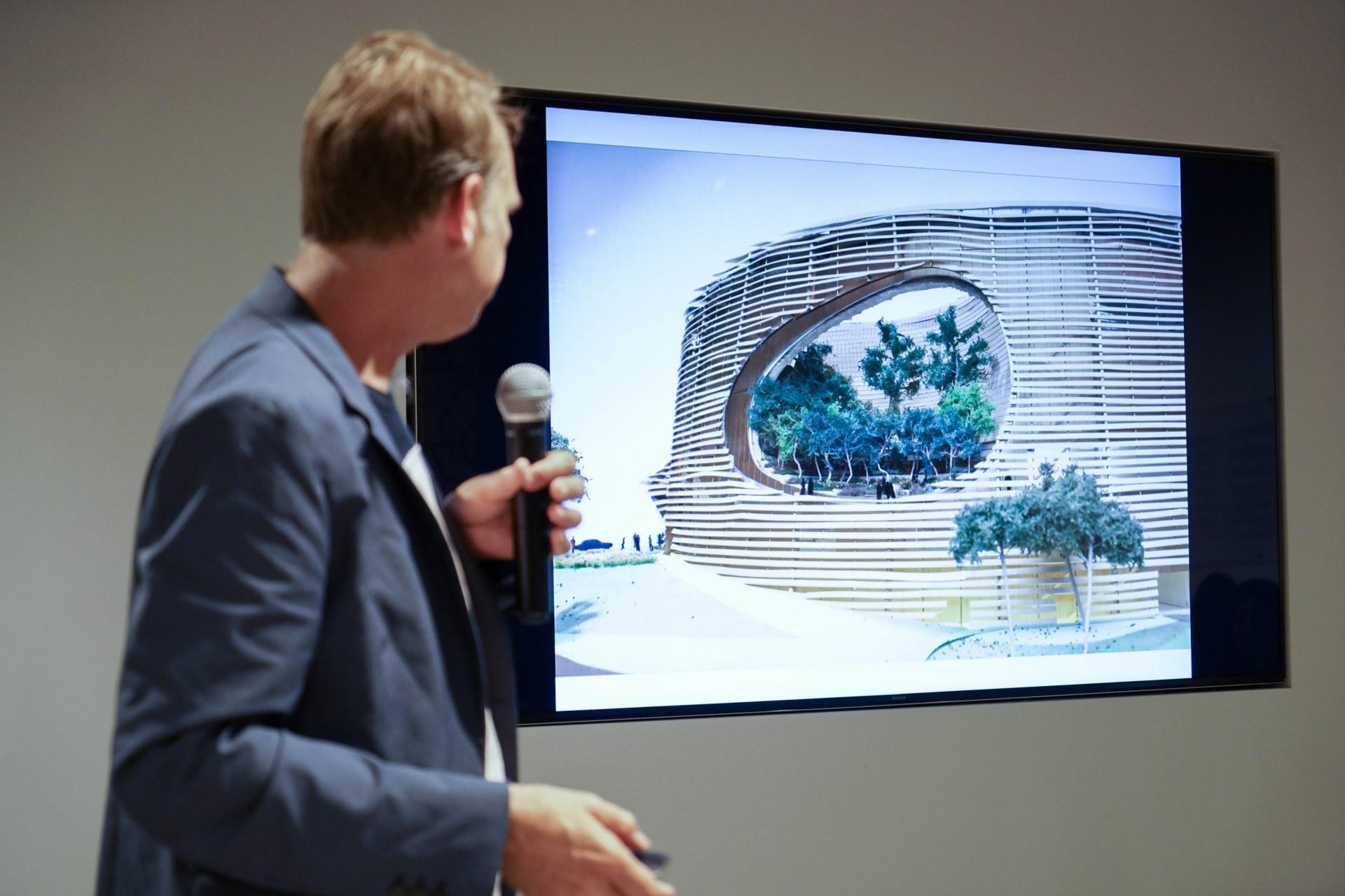 WORKac Beirut Museum of Art un museo aperto per Beirut