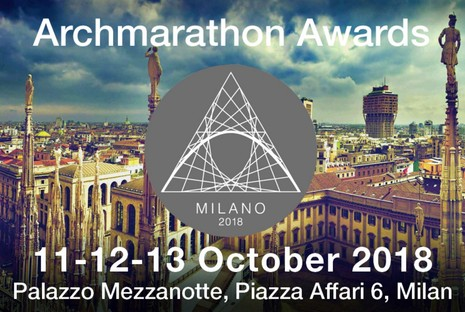ARCHMARATHON Awards 2018 a Milano