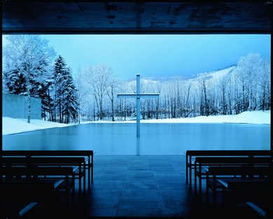 Eglise sur l'eau / Church on the Water 1988 Photo Yoshio Shiratori