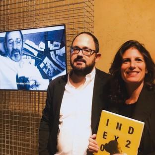 Raul Betti e Greta Ruffino, ph  Daniela Schirinzi