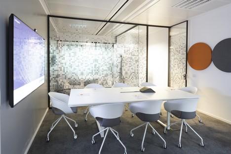 Progetto CMR - Massimo Roj Architects uffici contemporanei a Milano