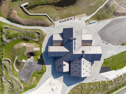 C.F. Møller Architects The Heart in Ikast Danimarca