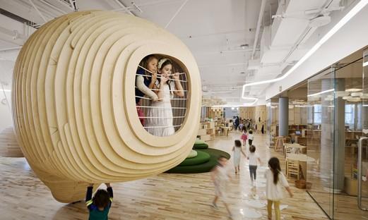 Architettura per l'infanzia la prima scuola WeGrow di BIG