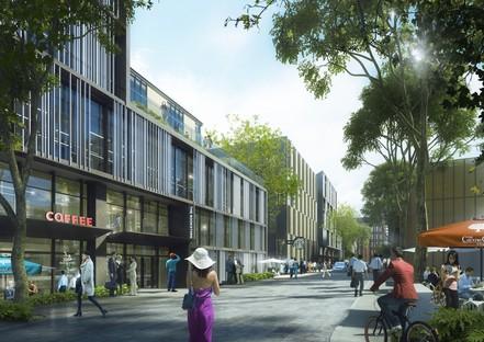 Il nuovo polo finanziario e commerciale di Shanghai progettato da Ennead Architects