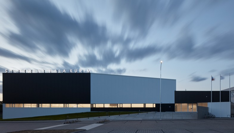 Cuboid Architekti City Sports Hall in Kuřim Repubblica Ceca