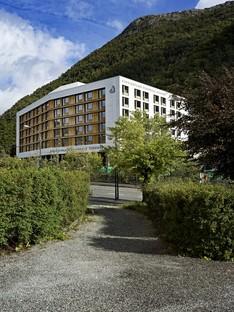 C.F. Møller Architects ampliamento del Haraldsplass Hospital Norvegia