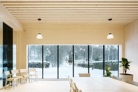 Wingårdh Arkitektkontor ampliamento Sundbyberg Cemetery Pavilion