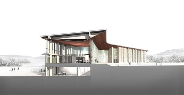 FXCollaborative: ampliamento e caffetteria della Bilkent Erzurum Laboratory School Turchia
