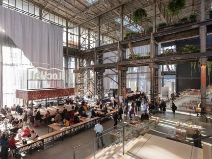 Mecanoo interior design della LocHal Library a Tilburg