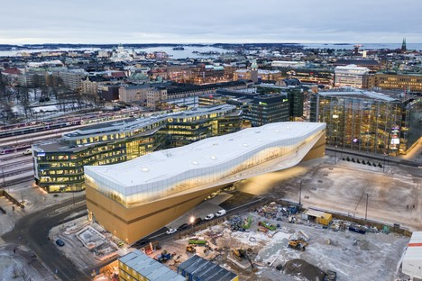 ALA Architects Helsinki Central Library Oodi e le Architetture per la cultura in Finlandia