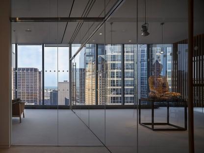 Alvisi Kirimoto interior design per uffici a Chicago