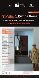 Francesco Venezia riceve il Piranesi Prix de Rome alla carriera