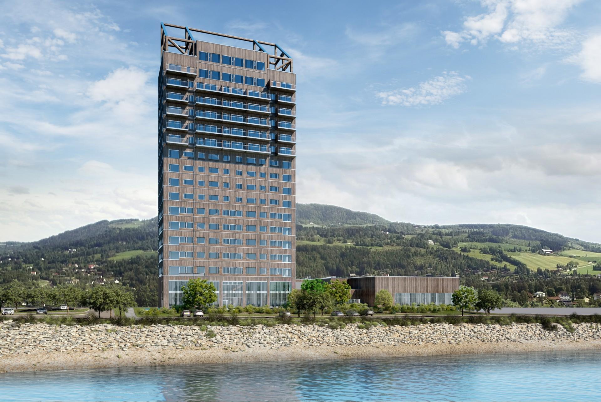Mjost rnet il piu alto grattacielo in legno del mondo for Grattacielo piu alto del mondo