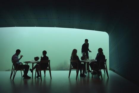 Under il ristorante sotto il mare di Snøhetta