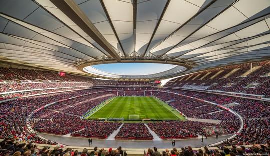 Un nuovo reportage fotografico per lo stadio dell'Atletico de Madrid
