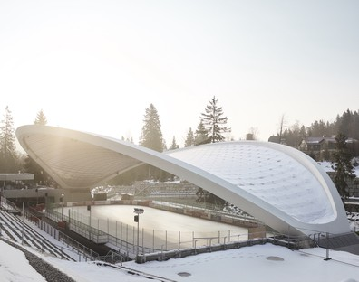 La Feuerstein Arena progettata da GRAFT vince German Design Award 2019