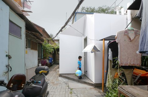 People's Architecture Office Courtyard House Plugin Pechino