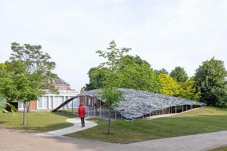 Serpentine Pavilion inaugurato il progetto di Junya Ishigami