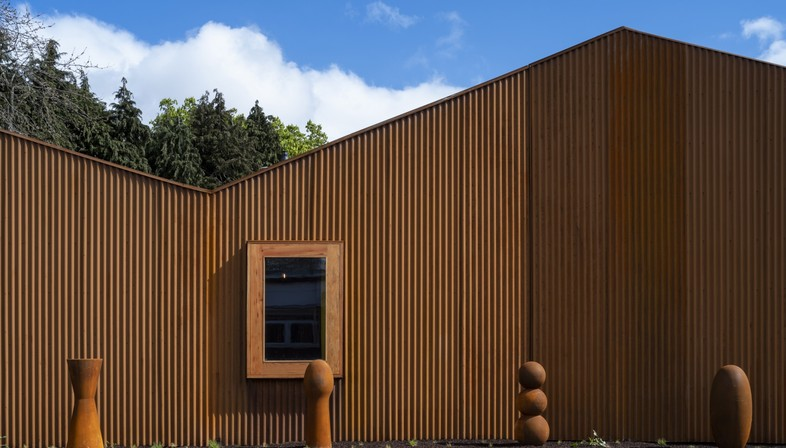 Dow Jones Architects Maggie's Cancer Centre al Velindre Hospital di Cardiff