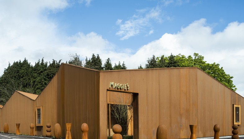 Dow Jones Architects Maggie's Cancer Centre al Velindre Hospital di Cardiff
