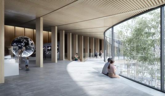 Svezia COBE progetta nuovo museo icona della sostenibilità