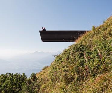 Snøhetta progetta Il sentiero delle prospettive sulla Nordkette di Innsbruck