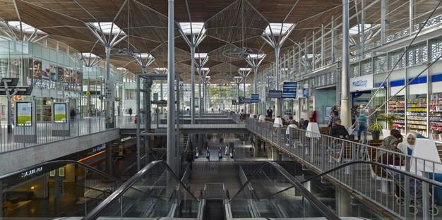 AREP + Groupe3 Architectes Casa-Port Railway Station Casablanca Marocco