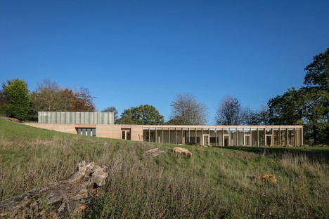 Feilden Fowles Architects centro visitatori dello Yorkshire Sculpture Park