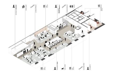 Cino ZucchiArchitettie RGAstudio Bistrot Lavazza Torino