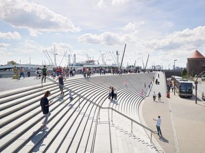 Zaha Hadid Architects  Niederhafen River Promenade Amburgo