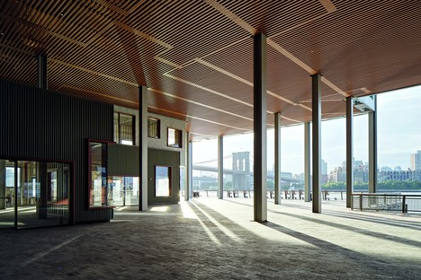 SHoP Architects il nuovo Pier 17 a South Street Seaport - Manhattan