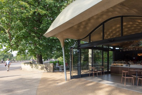 Mizzi Studio The Serpentine Coffee House Londra