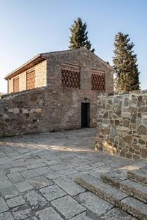 Pierattelli Architetture interior di ex casa colonica in Toscana