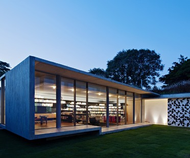 Kruchin Arquitetura una biblioteca per la Capobianco House a São Paulo