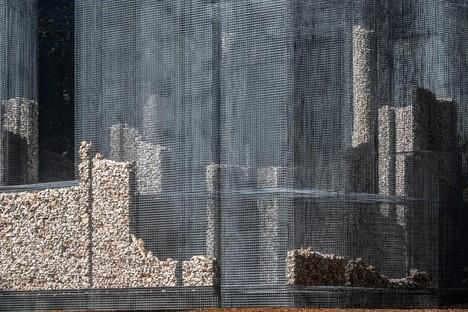 Edoardo Tresoldi Simbiosi opera site-specific per Arte Sella - Dolomiti Trentino