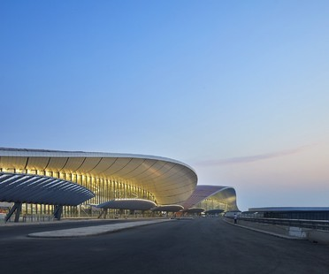 Inaugurato il Daxing International Airport di Pechino progettato da Zaha Hadid Architects