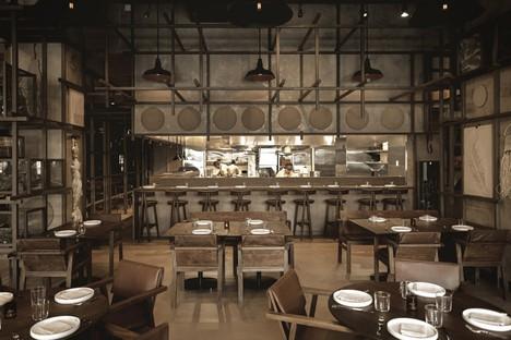 Tzuco un ristorante per Carlos Gaytán a Chicago, di Cadena Concept Design