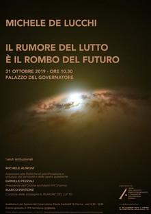 Michele De Lucchi conferenza Il rumore del lutto è il rombo del futuro