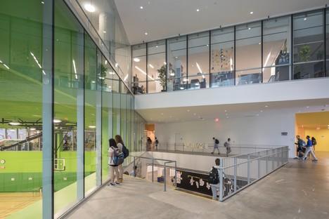 BIG The Heights un'architettura che disegna nuovi paesaggi per l'apprendimento