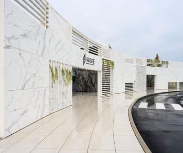 FAB Fiandre Architectural Bureau di Castellarano nuovo allestimento di Iosa Ghini Associati