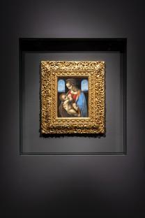 Migliore+Servetto architects allestimento mostra Leonardo e la Madonna Litta Milano