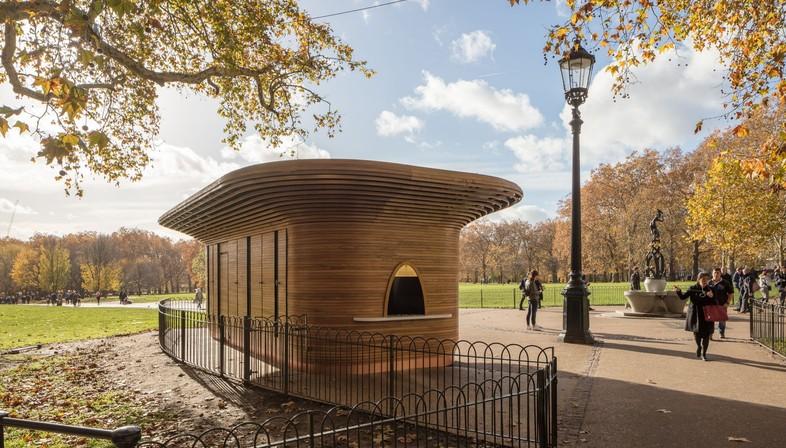 Mizzi Studio The Royal Parks Kiosks Londra