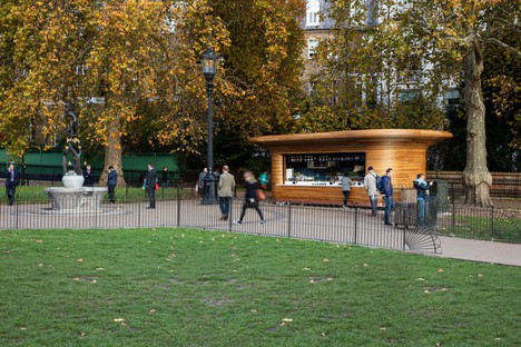 Mizzi Studio The Royal Parks Kiosks Londra
