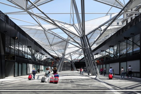 Dominique Perrault Architecture Inaugurata Piazza Garibaldi a Napoli