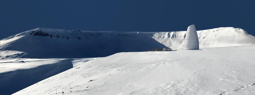 Snøhetta The Arc centro visitatori per il patrimonio vegetale mondiale alle Isole Svalbard