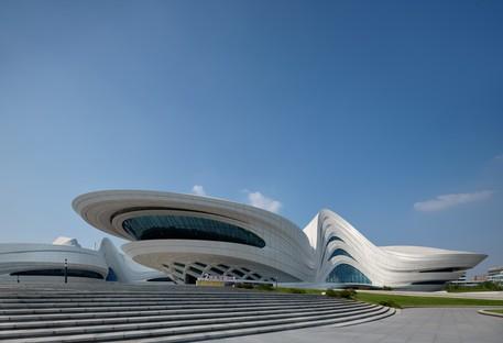 Zaha Hadid Architects Meixihu International Culture & Arts Centre Changsha